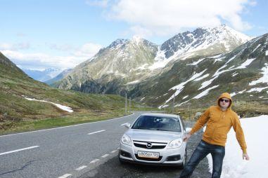 Европейские каникулы из Красноярска в Альпы на Opel Vectra