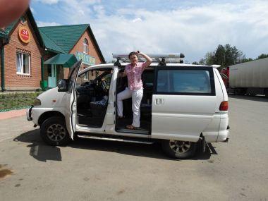 Путешествие c семьей на Mitsubishi Delica: Иркутск—Алтай—Иркутск