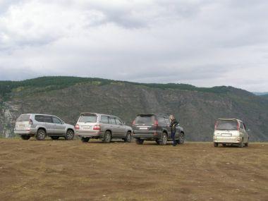 Алтайский «offroad» на Toyota Funcargo 4WD