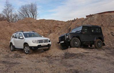 Сравнительный тест Land Rover Defender и Renault Duster. Битва форматов