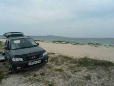 Путешествие в Крым на Mazda Demio