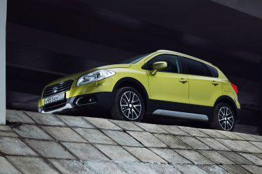 Suzuki New SX4. Гонка за лидером