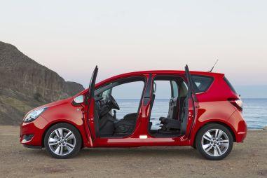 Тест-драйв обновленного Opel Meriva. Насквозь