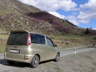 В страну малиновых гор на Toyota Funcargo 4WD