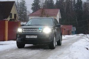 Тест-драйв Land Rover Freelander II. Чуть больше, чем кроссовер