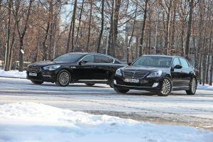 Hyundai Equus и KIA Quoris. Два раза «ку»
