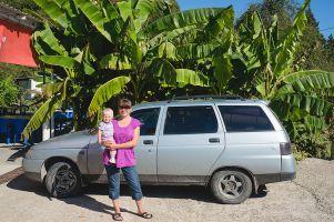 Первый отпуск с дочерью к Чёрному морю в 2013-ом на Ваз 2111