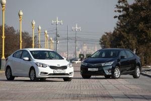 Сравнительный тест Kia Cerato и Toyota Corolla. Ученик и учитель