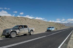 Путешествие из Москвы на Алтай летом 2013 года на Ford F150 Raptor и VW Transporter