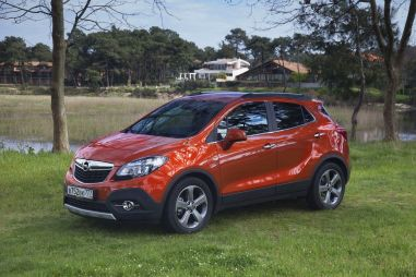 Тест-драйв Opel Mokka 1.4 Turbo. Антикросс