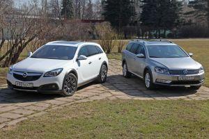 Сравнительный тест Volkswagen Passat Alltrack и Opel Insignia Country Tourer. Сараеводство