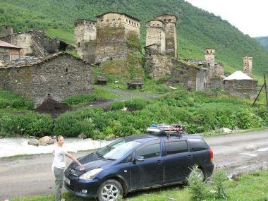 Семейное путешествие по России и странам ближнего зарубежья. Часть третья: Грузия
