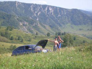 Чинета днем не та. Дружеская поездка по Алтайскому краю на Ваз 2112