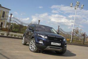 Тест-драйв Range Rover Evoque Si4. Модник в «кирзачах»
