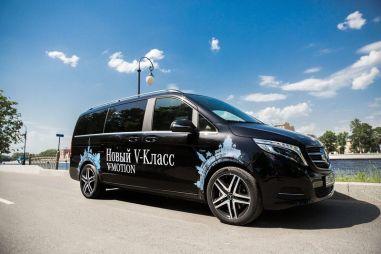 Тест-драйв Mercedes-Benz V-Class. Бизнес-джет