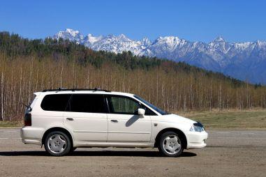 Из Красноярска в Монголию на Honda Odyssey