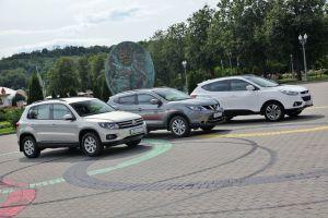 Сравнительный тест Nissan Qashqai, Volkswagen Tiguan, Hyundai ix35. Кашкай принимает вызов
