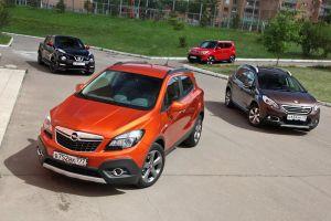 Сравнительный тест KIA Soul, Nissan Juke, Opel Mokka и Peugeot 2008. Конструктор
