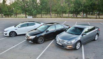 Сравнительный тест Toyota Camry, KIA Optima и Nissan Teana. Тихоокеанские разборки