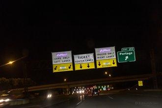 Портедж, Индиана: Иллинойс начинает эту эстафету и каждый следующий штат ее продолжает. Как жаль, что я забыл свою карту для электронной оплаты проезда
