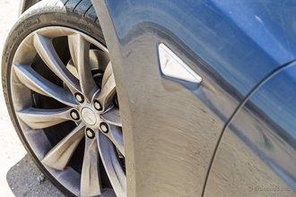 Айванпа, Калифорния: эти прекрасные покрышки Michelin в начале нашей поездки были абсолютно новыми