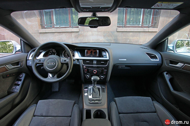 сравнительный тест Audi A5 Sportback и Bmw 3 Series Gt недокупе