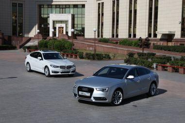 Сравнительный тест Audi A5 Sportback и BMW 3-series GT. Недокупе