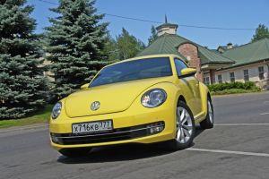 Тест-драйв Volkswagen Beetle. «Жучара»