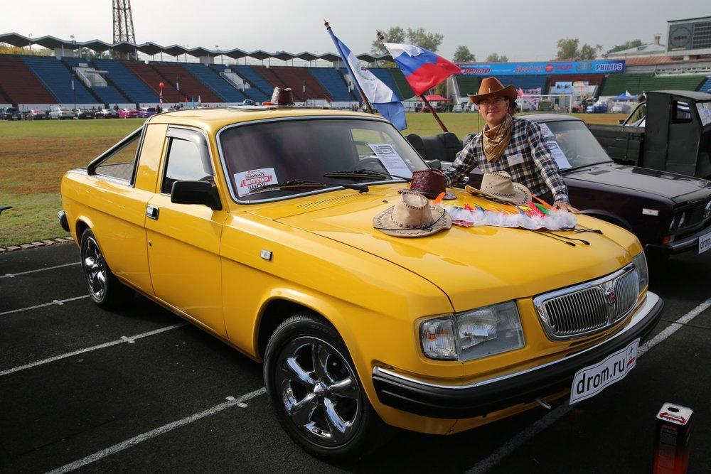 Пикап из «Волги» ГАЗ-3110