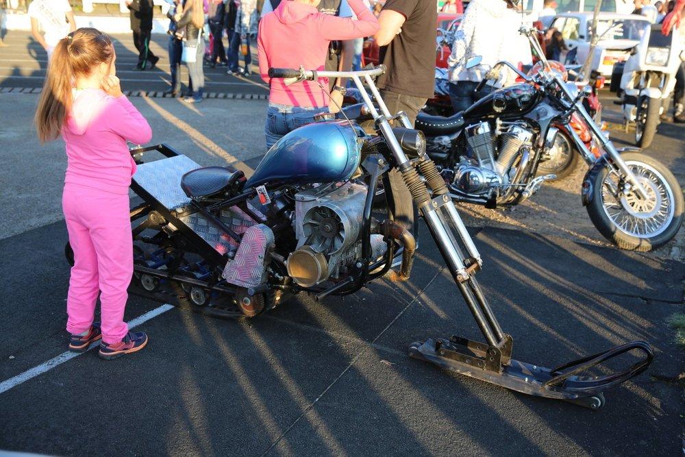 «Снежный» мотоцикл на базе агрегатов отечественной мототехники