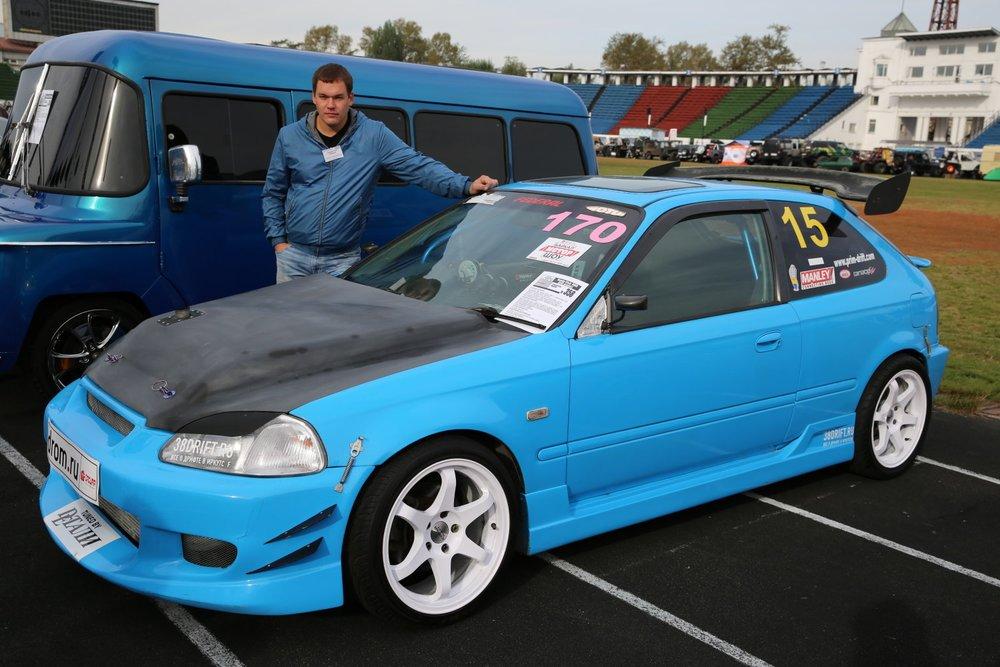 Honda Civic RWD drift project