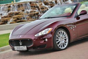 Тест-драйв Maserati GranCabrio. Гранд-кабриолет