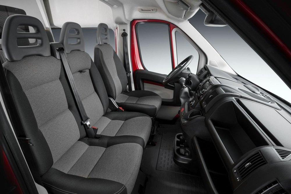 Интерьер фургона Fiat Ducato