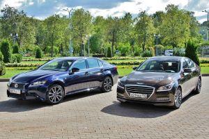 Сравнительный тест Hyundai Genesis 3.8 HTRAC и Lexus GS 350 AWD. Gangnam style