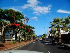 Семейные покатушки по острову Тенерифе