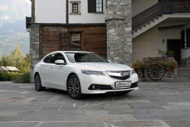Тест-драйв Acura TLX. Пополнение