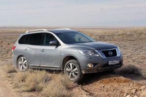 Тест-драйв нового Nissan Pathfinder. Бесхребетник