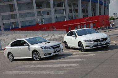 Сравнительный тест Volvo S60 AWD и Subaru Legacy GT-S. А есть ли козырь?