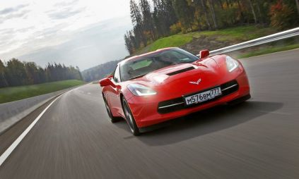 Тест-драйв Chevrolet Corvette Stingray. American Dream
