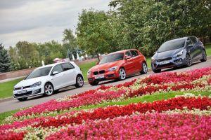 Сравнительный тест VW Golf GTI, KIA cee'd GT и BMW 116i Sport. Со спортом по жизни