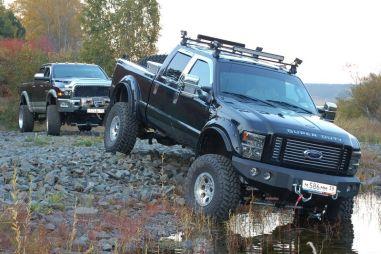 Лифтованные Dodge Ram и Ford F250. Как, зачем и почем?