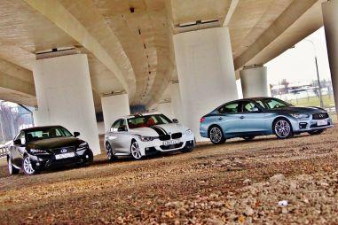 Сравнительный тест Infiniti Q50 Hybrid, BMW 335i и Lexus IS 300h. Битва идеологий
