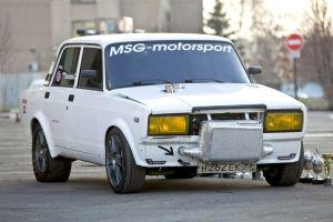 Тюнинг ВАЗ-2107. Рекордная «классика»