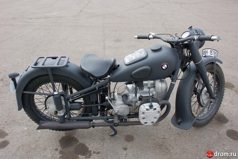 Немецкий мотоцикл R-12 - zvezda.org.ru