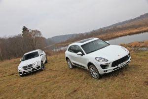 Сравнительный тест Porsche Macan S и BMW X4. Средневесы