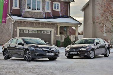 Сравнительный тест Acura TLX 2.4 и Lexus ES250. Для пассажира или для водителя?