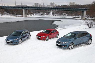 Сравнительный тест Renault Megane, Opel Astra и Mazda3. Мещане во дворянстве
