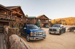 Сравнительный тест пикапов Ford F-150, Dodge Ram 1500 и Chevrolet Silverado