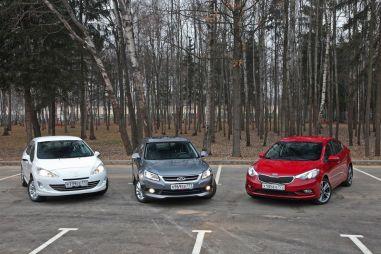 Сравнительный тест Chery Arrizo 7, KIA Cerato и Peugeot 408. «Бюджет +»