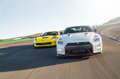 Сравнительный тест Chevrolet Corvette Z06 и Nissan GT-R Nismo